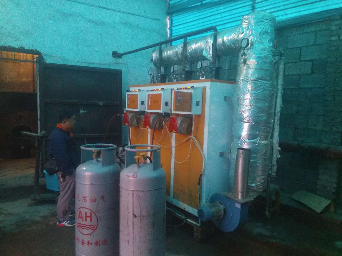 300公斤燃气蒸汽发生器
