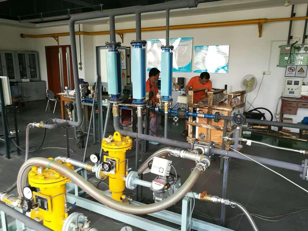 实验室蒸汽发生器调试现场