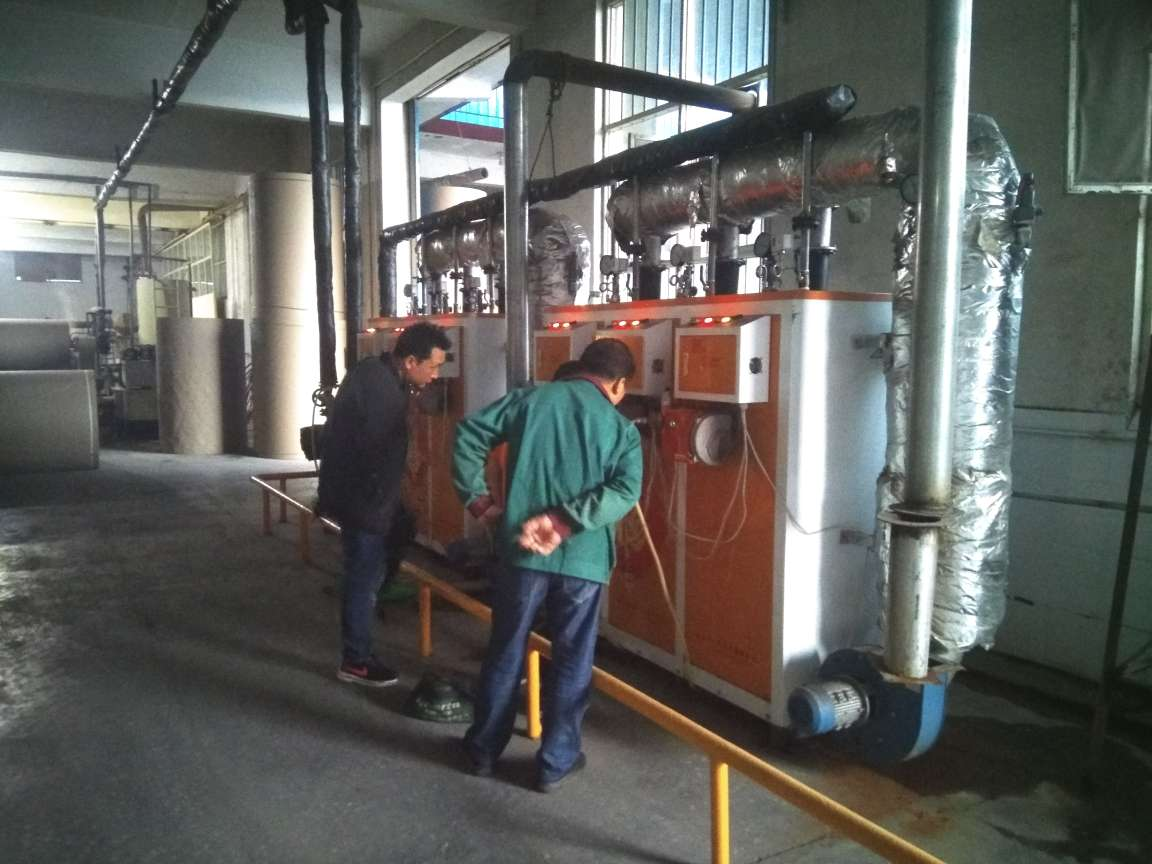 0.3吨燃气蒸汽发生器使用现场
