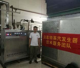 西北某军工企业360KW蒸汽发sheng器配tao螺xuan管设备应用案例