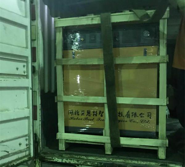 乳化机配套蒸汽发生器发货现场