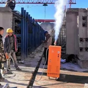 zhong铁二局混凝土制品养护24KW电加re蒸汽发sheng器